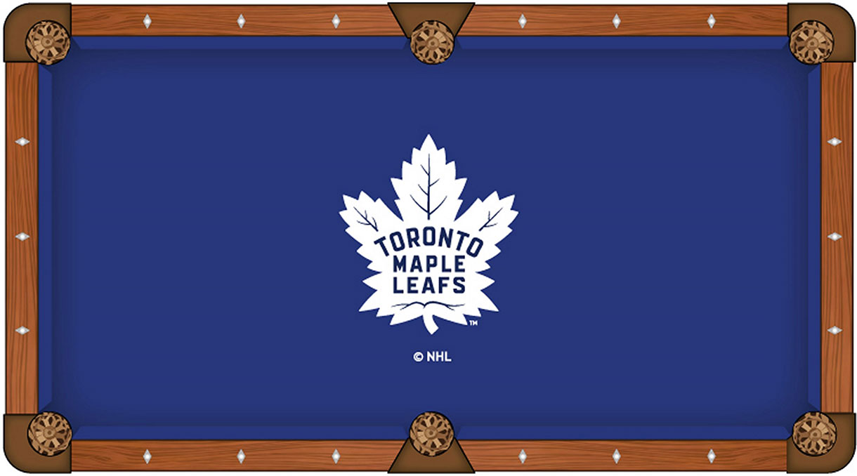 Toronto Maple Leafs Pool Table Felt