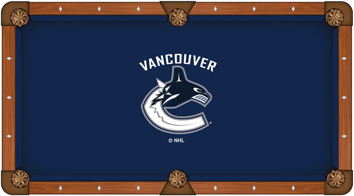 Vancouver Canucks Pool Table Felt