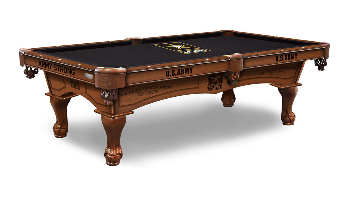 U.S. Army Pool Table