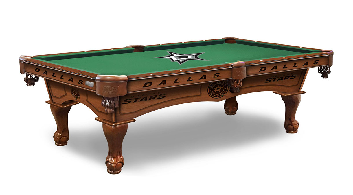 Dallas Stars Logo Pool Table