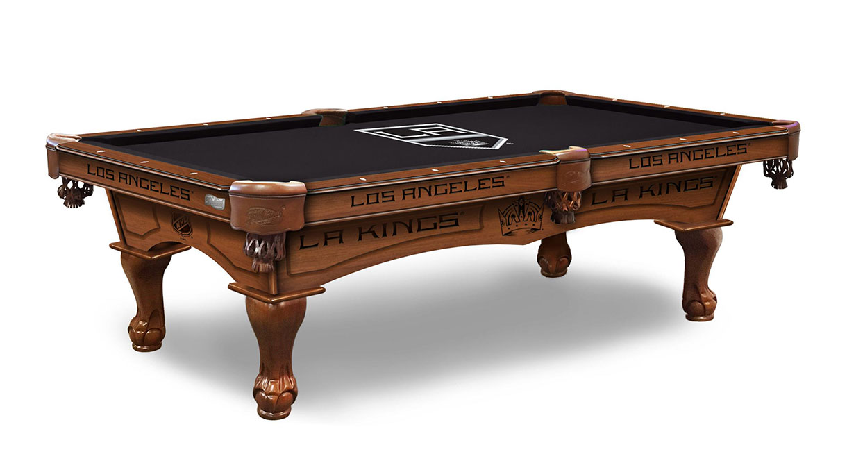 Los Angeles Kings Logo Pool Table