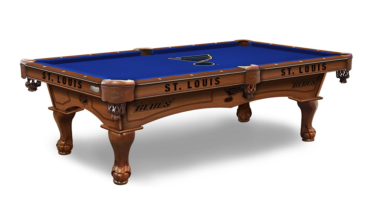St Louis Blues Logo Pool Table