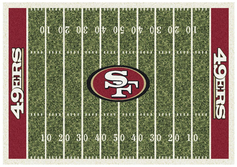 SAN FRANCISCO 49ERS HOMEFIELD RUG