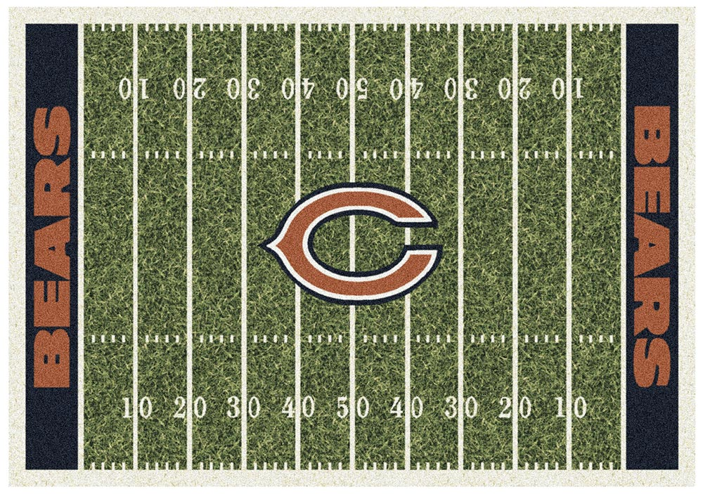 CHICAGO BEARS HOMEFIELD RUG