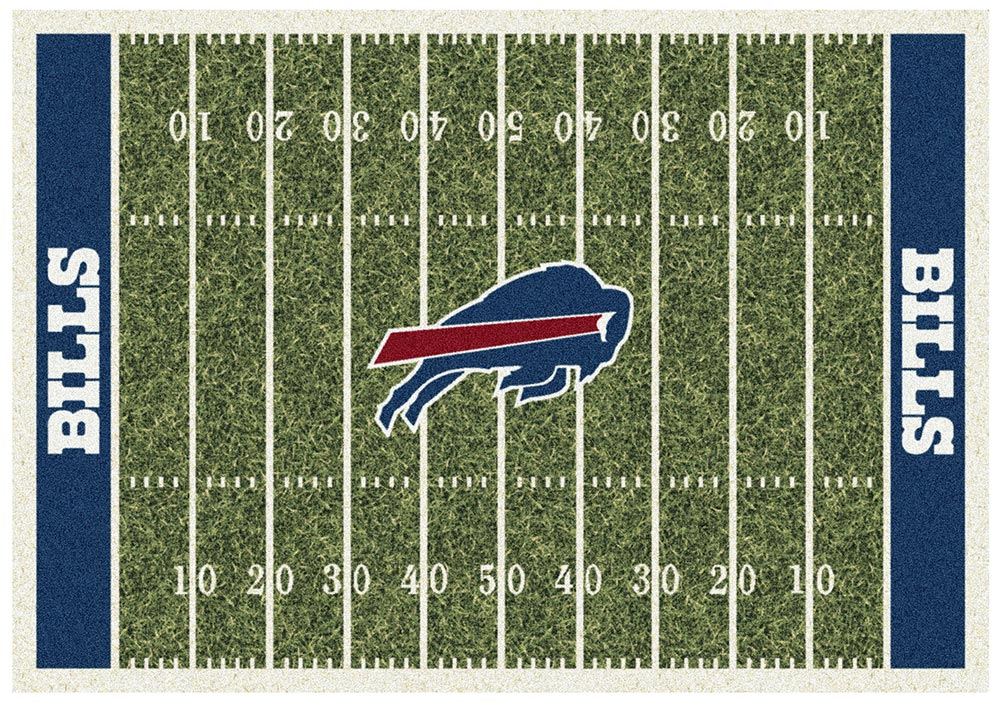 BUFFALO BILLS HOMEFIELD RUG