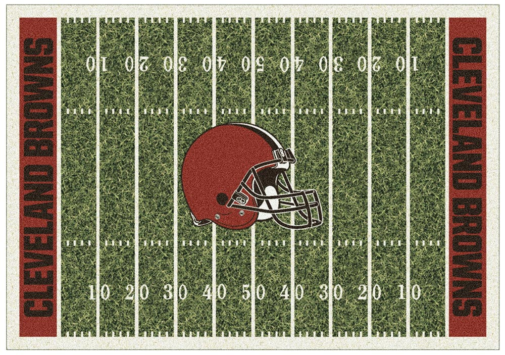 CLEVELAND BROWNS HOMEFIELD RUG