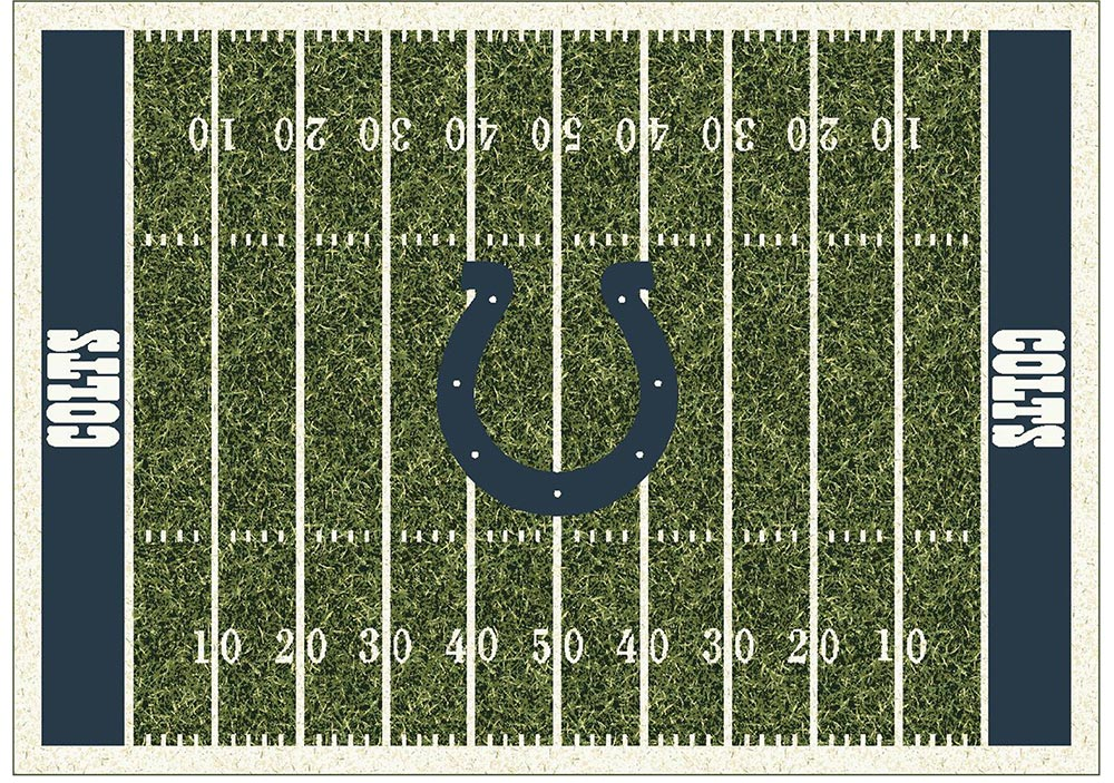 INDIANAPOLIS COLTS HOMEFIELD RUG