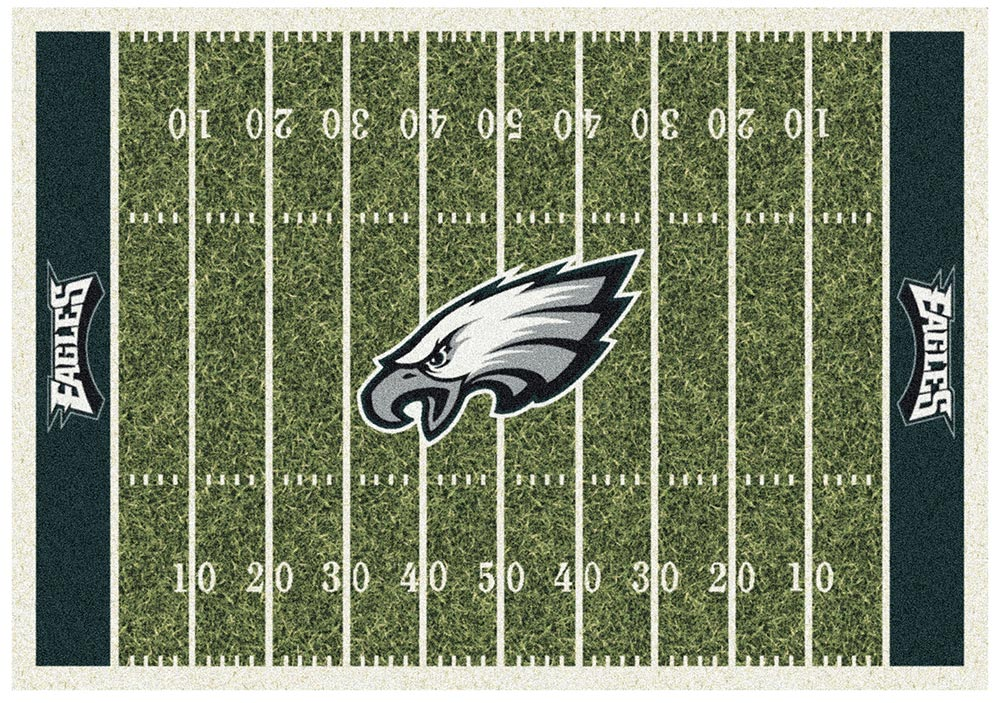 PHILADELPHIA EAGLES HOMEFIELD RUG