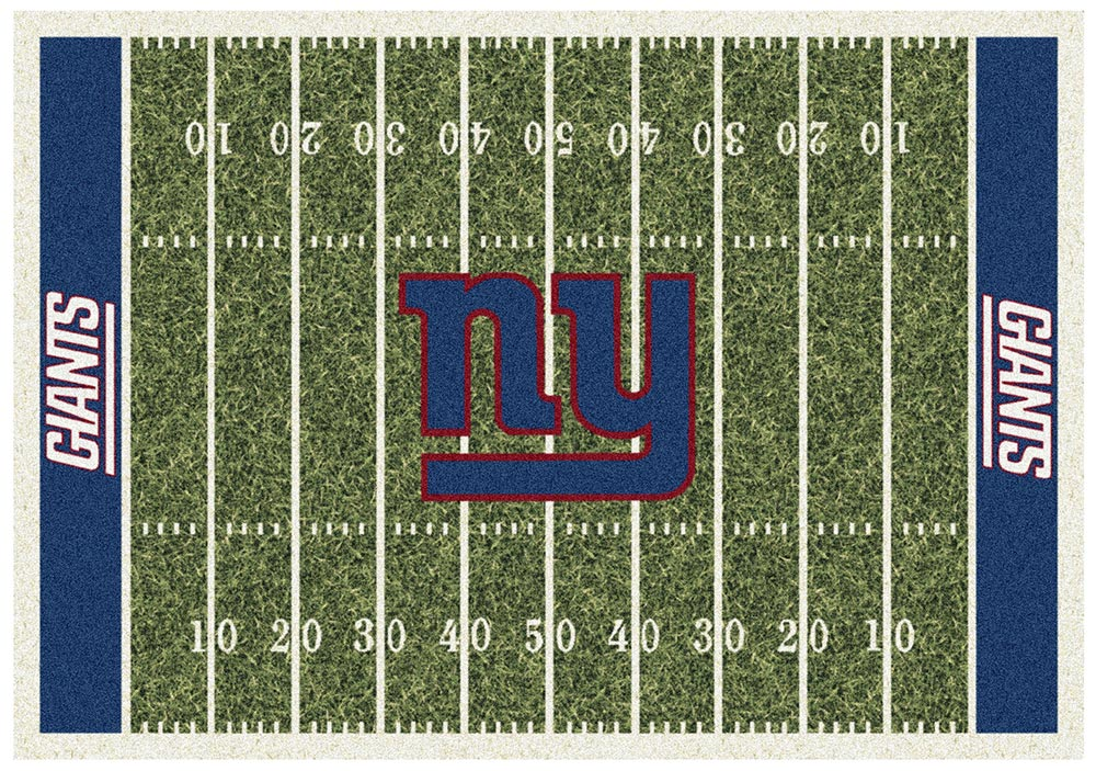 NEW YORK GIANTS HOMEFIELD RUG