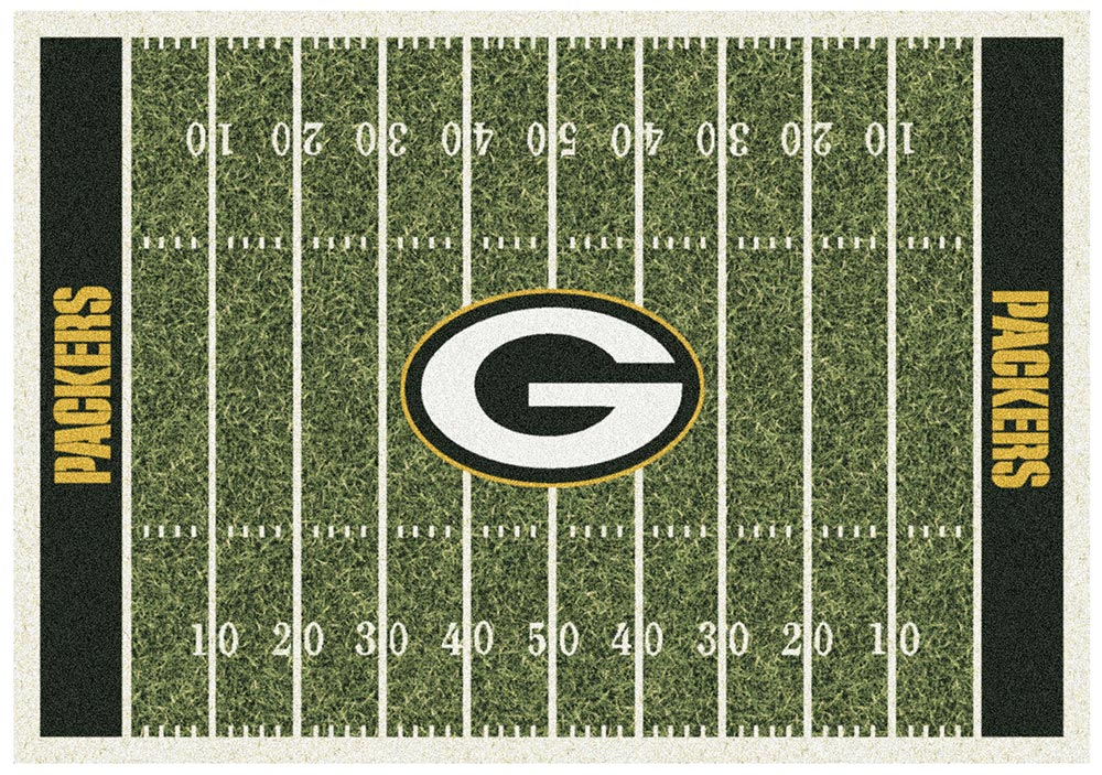 GREEN BAY PACKERS HOMEFIELD RUG