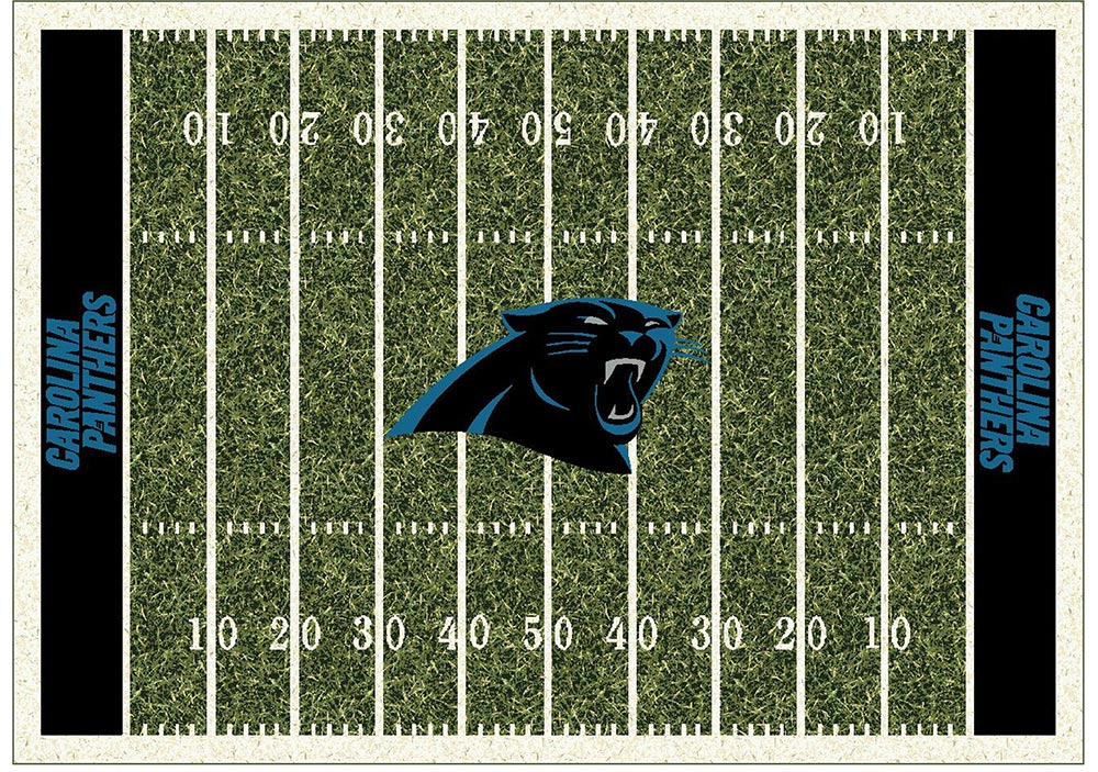 CAROLINA PANTHERS HOMEFIELD RUG
