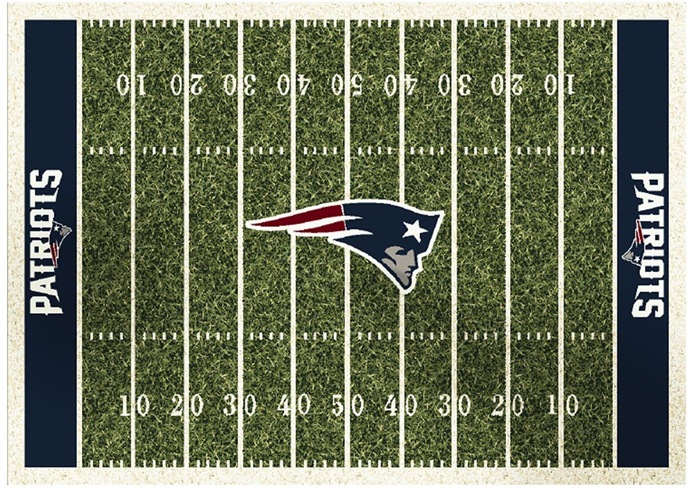 NEW ENGLAND PATRIOTS HOMEFIELD RUG