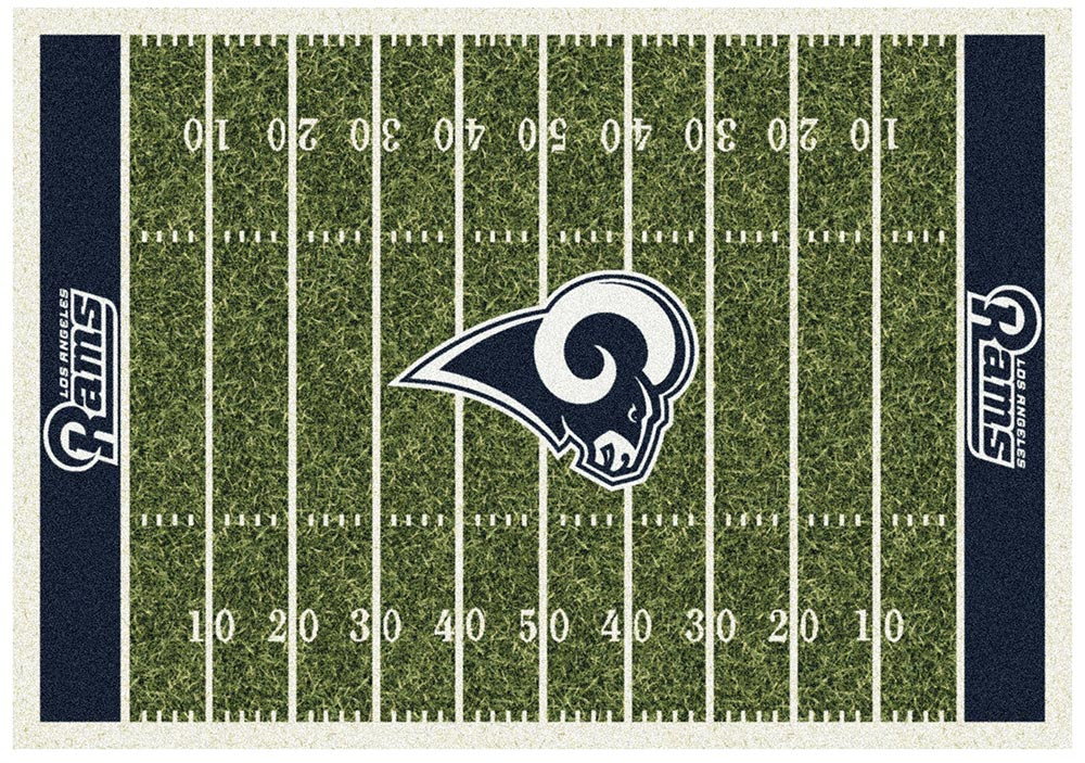 LOS ANGELES RAMS HOMEFIELD RUG