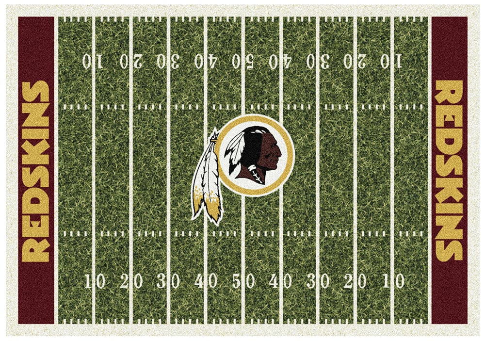 WASHINGTON REDSKINS HOMEFIELD RUG