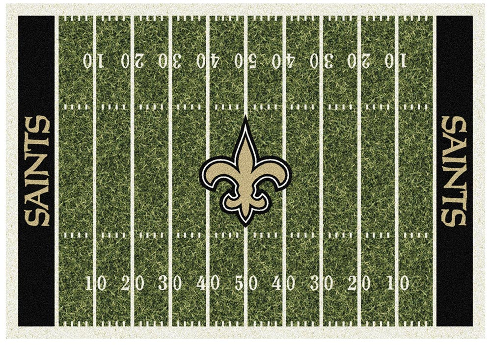 NEW ORLEANS SAINTS HOMEFIELD RUG