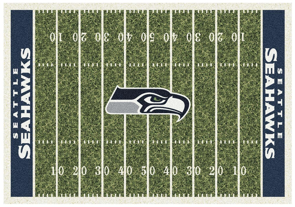 SEATTLE SEAHAWKS HOMEFIELD RUG