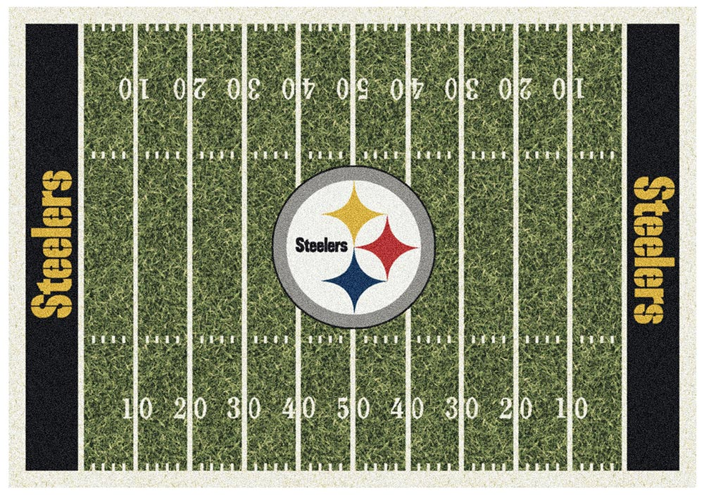 PITTSBURGH STEELERS HOMEFIELD RUG