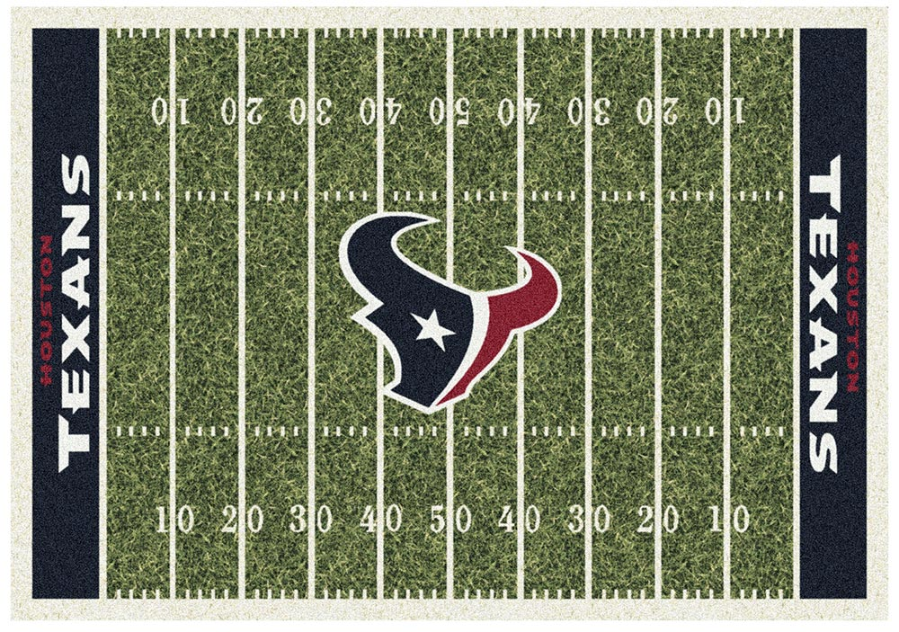 HOUSTON TEXANS HOMEFIELD RUG