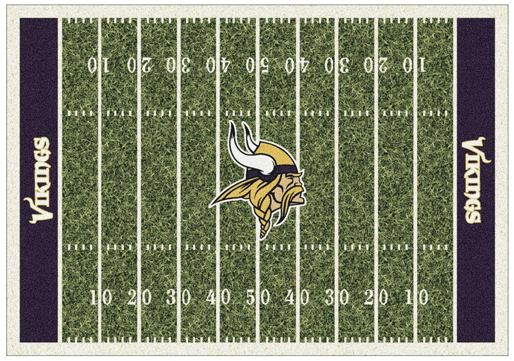 MINNESOTA VIKINGS HOMEFIELD RUG